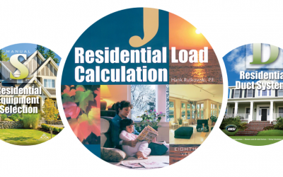 ACCA Residential HVAC Standards: Manual J – Load Calculations, Manual D – Duct Design, and Manual S – Equipment Selection: Part 1